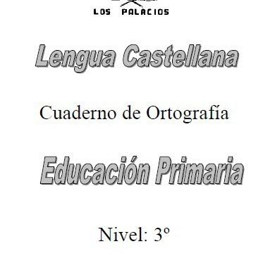 Ortografia 3 primaria