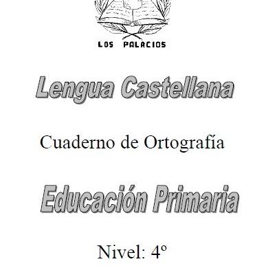 Ortografia 4 primaria