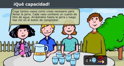 Resultado de imagen de el litro actividades online para 2º primaria
