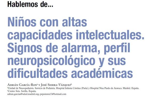 perfil neuropsicologico y dificultades academicas