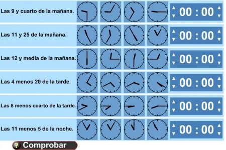 Reloj digital y analógico | Más de 3.000 recursos web en Inglés y ...