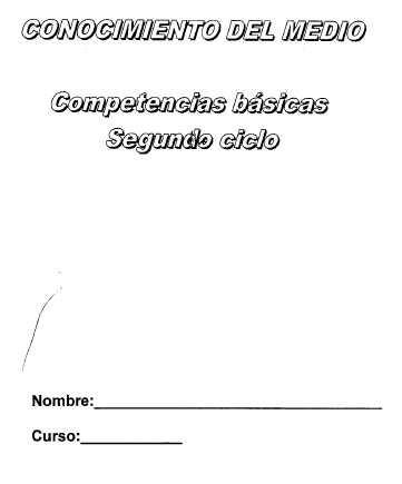 Evaluación de competencias básicas en conocimiento 4º ...