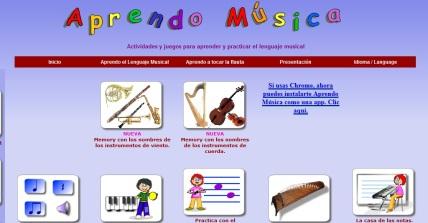 aprendo musica con las tics