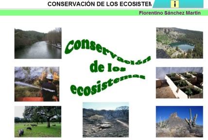 ecosistemas conservacion