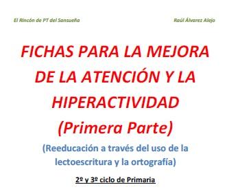 lectoescritura atencion hiperactividad