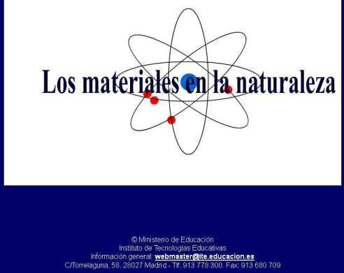 WEB DE LA MATERIA