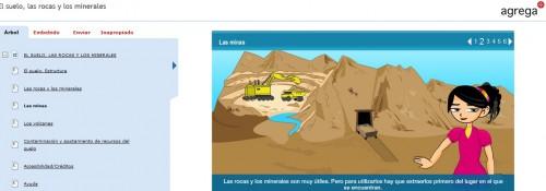 minerales, rocas y suelo agrega