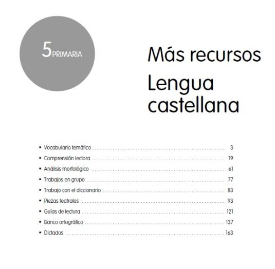 lengua 5 mas