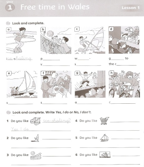 in class writing activity for kids