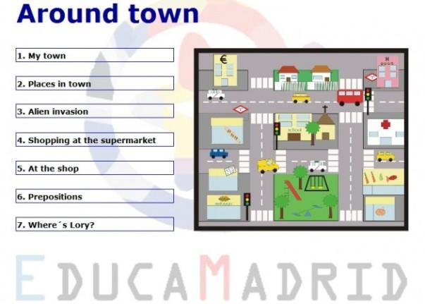 Around Town | Segundo Y Tercer ciclo primaria – Secundaria (ESO ...