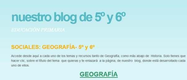 GEOGRAFIA 5 Y 6