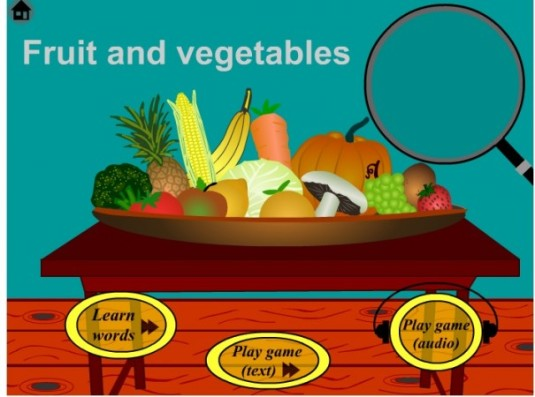 fruit and vege