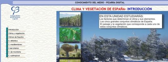 clima y vegetacion clarion