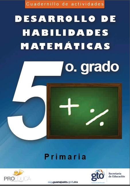 cuaderno matematicas5 mejico