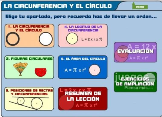 circunferencia y circulo