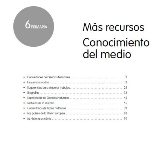 recursos cono 6