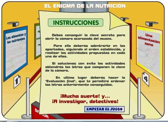 enigma nutrición