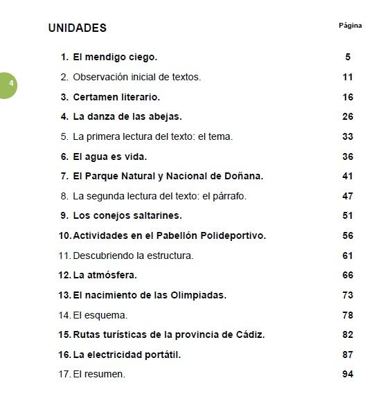 competencia linguistica 6º