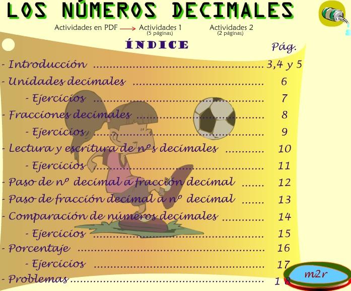 decimales m2r