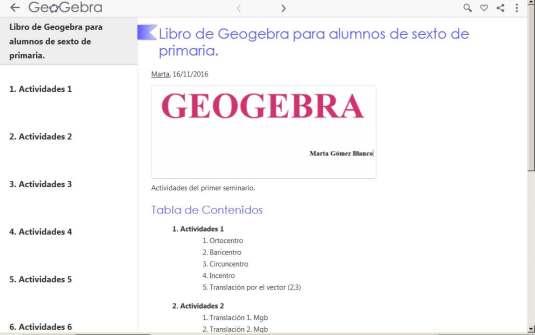 geocebra 6 primaria