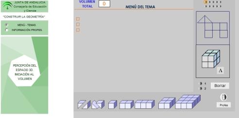VOLUMEN construir la geometira