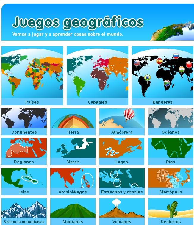 juegos geografia