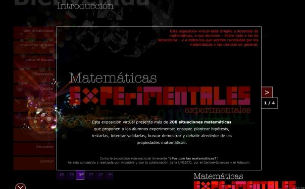 matematicas experimentales
