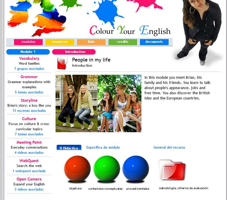 colour your english