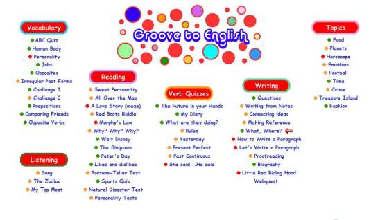 groove your english