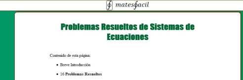 SISTEMAS DE ECUACIONES 1