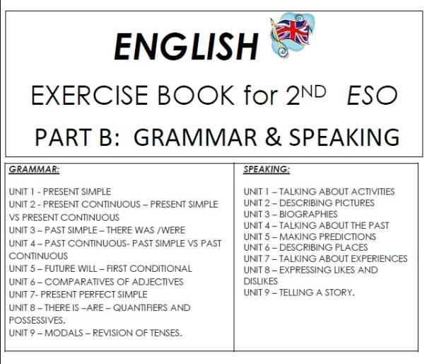 grammar speking 2 eso